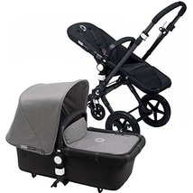 Bugaboo 2015 Cameleon 3 Stroller With Extendable Canopy, All Black/Grey ... - $1,206.81