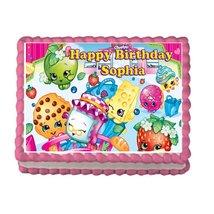 Shopkins Girls Birthday Party Premium Edible Ca... - $9.99