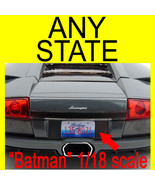Custom All Brands RC & model car, State License Plates -1:5 to 1:42 scale - $11.00