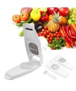 Slicer Cut Fries Vegetable Salad Fruit Peeler Cutter Chopper Grater Kitc... - $447,33 MXN
