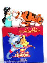 Disney Jasmine Rajah Figurines Schmid Ceramic Princess Tiger Aladdin - $79.95