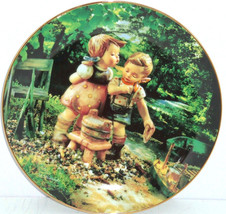 Hummel Collector Plate August Hot Summer Days Calendar Collection Danbur... - $59.95