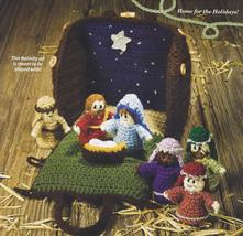 Nativity Set & Carrying Case~Crochet Pattern~Meant To Be Played With - $39.99