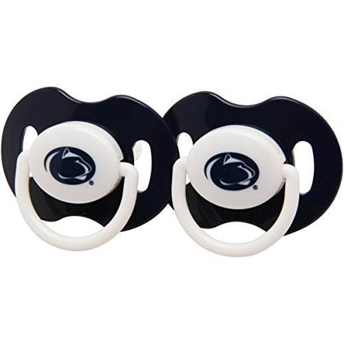 PENN STATE NITTANY LIONS 2-PACK BABY INFANT ORTHODONTIC PACIFIER SET NCAA