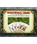 Whitetail Deer High Quality Playing Cards - $12.98