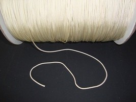 100 FEET: 1.4 MM WARM ALABASTER Professional Nylon Lift Cord for Blinds ... - $20.78