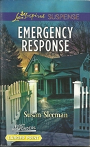 Emergency Response Susan Sleeman(First Responders 4)(Love Inspired LP Su... - $2.25