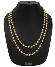 Womens Trendz Vartikal Mala 24K Gold Plated Alloy Necklace - $35.00