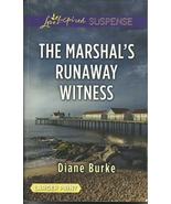 The Marshal's Runaway Witness-Diane Burke (Love... - $2.25