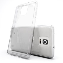 10 pcs lot New Ultra Clear Silicone Slim Soft Case Cover For SAMSUNG NOTE 4 - $24.85