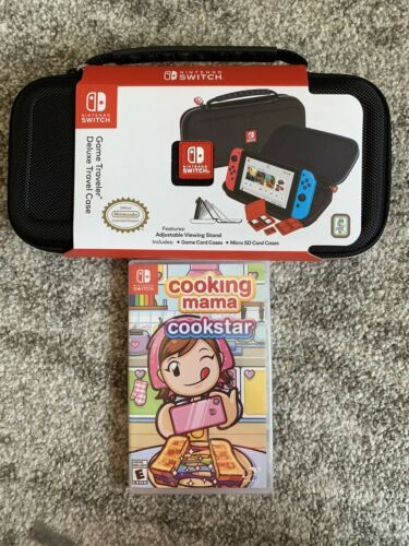 Primary image for Cooking Mama: Cookstar Nintendo Switch Bundle Brand New Deluxe Travel Case