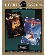 Ultima Underworld I & II [CD-ROM Classics: Gold Edition] - $100.00
