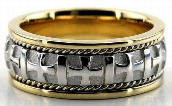 14K Gold, 7mm Handmade Wedding Band, Ring Size 4-13, Made in the USA