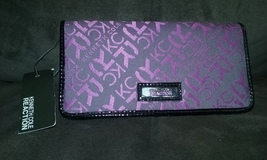 Kenneth Cole Reaction Mulberry PVC Slim Clutch ... - $17.99