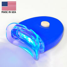 Professional Blue Accelerator Led Lights Hands Free for Teeth Whitening At Home - $9.25