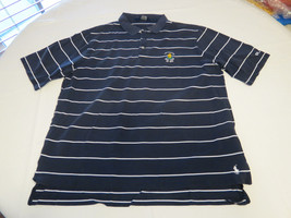 Polo Golf Ralph Lauren Mens short sleeve polo shirt L navy white Pima Ct... - $44.54