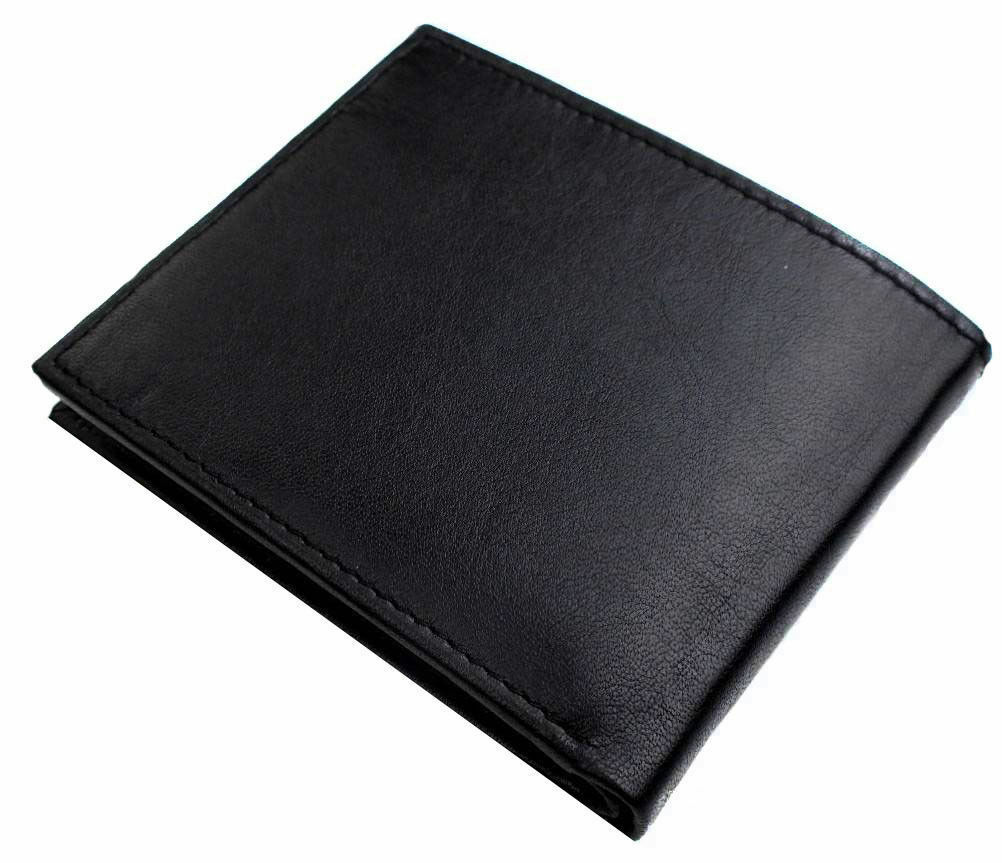 New Tommy Hilfiger Men's Leather Credit Card ID Passcase Wallet Black 31TL22X060 image 3