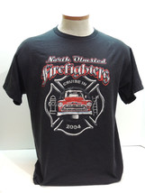 2004 North Olmsted Ohio Firefighters Local 1267 Cruise In T-Shirt Size L - $14.80