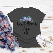 Basset Hound Dog Mom Floral T-Shirt Ideas Birthday Gift Vintage Funny - $15.99+