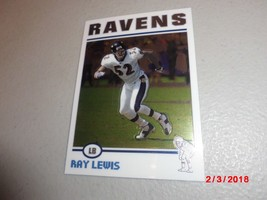 2004 Topps Chrome #87 Ray Lewis-Baltimore Ravens-Hall Of Fame- - $2.97