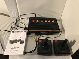 Atari Flashback 4 Classic Game Console Set Video Retro Old School - $15.88