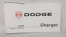 2008 Dodge Charger Owners Manual 52579 - $59.20