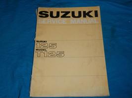 1969 69 1970 70 1971 71 1972 72 Suzuki T125 T 125 Shop Service Repair Manual - $46.93