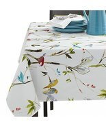"Benson Mills Spring Menagerie Indoor Outdoor Spillproof Tablecloth, 60"" ... - $29.69"