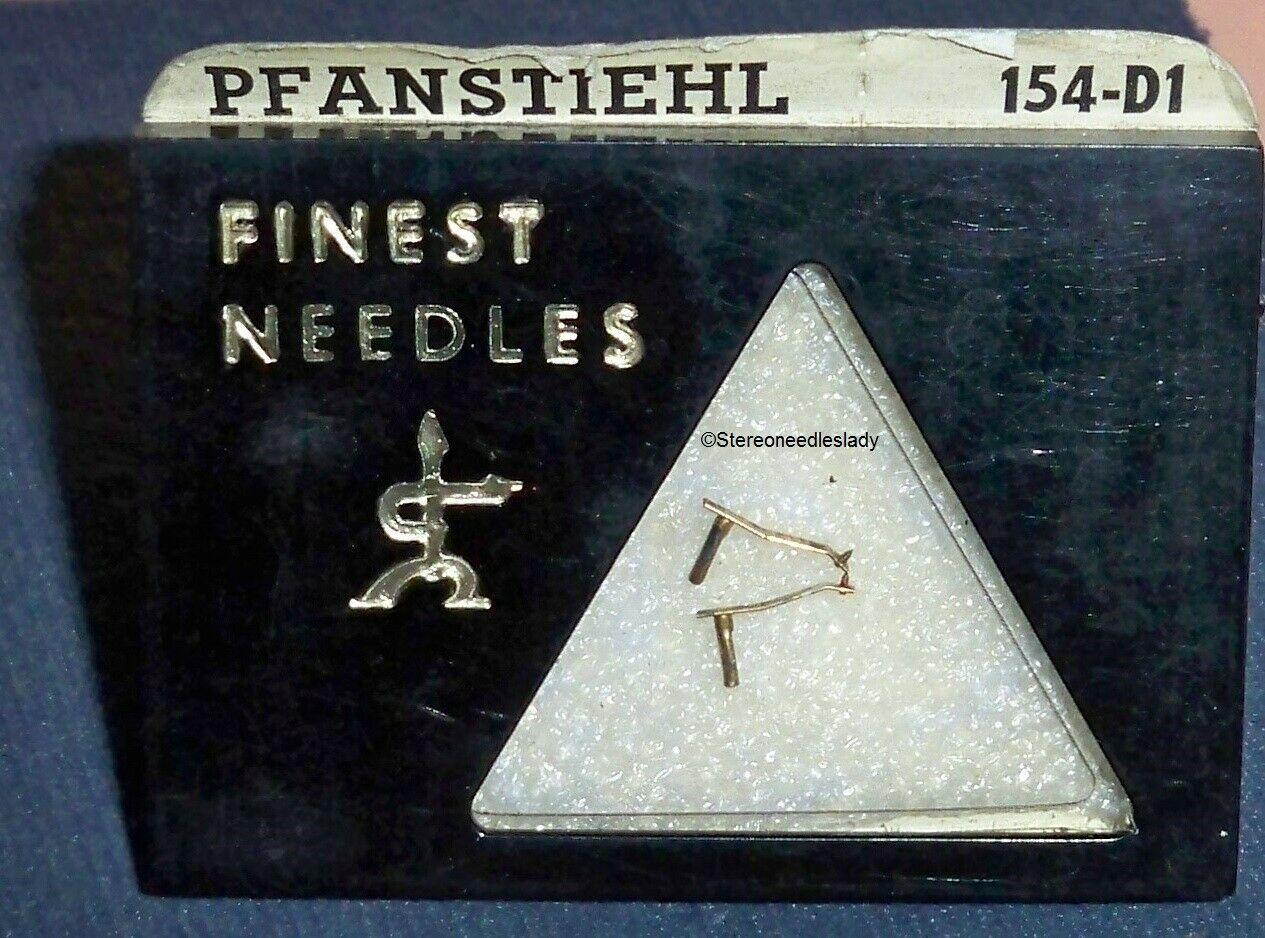 PHONOGRAPH NEEDLES (pair) for ASTATIC J K M X ASTATOC N31-1D N31S 154-D1 (2)