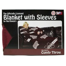 The Northwest Company NCAA Mississippi State Comfy Throw Blanket with Sleeves - $24.18