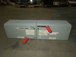 GE QMR323/QMR321 100A/30A Twin 3PH 240V Fused Panelboard Switch Red Handle - $650.00