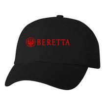 Beretta Script Logo Flexfit Fitted Hat Pro Gun 2nd Amendment Shooter Cap... - $22.49