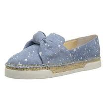 Vince Camuto Tratida Women Slip On Loafers Size US 11M Light Blue Splatt... - $36.40