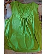 Knit Green Top Sleeveless Apt 9 Size 2X--------------------------hangpls... - $21.28