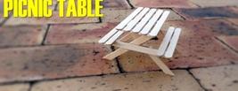 Cute Mini Picnic Table Handmade  - $14.00