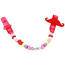 Baby Pacifier Leashes/Cases Special Pacifier Clips Pacifier Holder Red Baby - $13.76