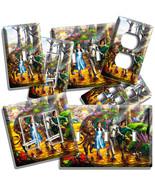 YELLOW BRICK ROAD WIZARD OF OZ DOROTHY LION SCARECROW TIN MAN LIGHTSWITC... - $10.99+