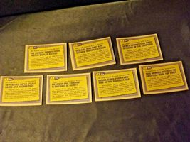 AA11986 Topps Baseball LOT 7 Cards '86 RECORD BREAKERS MINT Vintage AA19-BTC4000 image 4