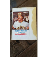 1975 HOSTESS TWINKIES FULL UNCUT CARD BOBBY BOB TOLAN SAN DIEGO PADRES R... - $7.99