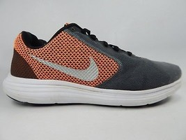 Nike Revolution 3 Size 10.5 M (D) EU 44.5 Men's Running Shoes Orange 819300-006