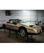 1986 Pontiac Fiero GAS FUEL FILLER LID DOOR GOLD - $74.25