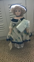 Timeless Treasures DOLL Elise 1996 Collection Limited Edition Porcelain ... - $128.69