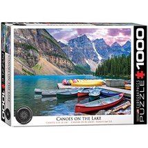 EuroGraphics Canoes on The Lake Jigsaw Puzzle (1000-Piece) - $16.03