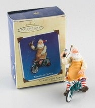 "Poinçon Souvenir Ornement "" Toymaker Santa "" de Collection Séries 2002 A... - $62.36"