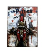 Loft Style Wall Creative Hanging Decoration   2motorcycle - $141.76
