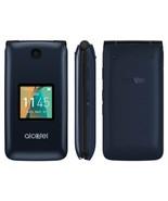 UNLOCKED T-Mobile Alcatel Go Flip 4044W 4G LTE GSM Camera Cell Phone - $64.00