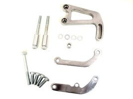 TSP SBC Aluminum Power Steering Bracket Kit, Polished