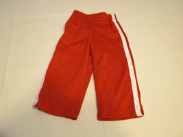 The Children's Place active pants 12 M baby boys NWT red white Athletics Dept - $19.78