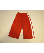The Children's Place active pants 6-9 M baby boys NWT red white Athletic... - $19.78