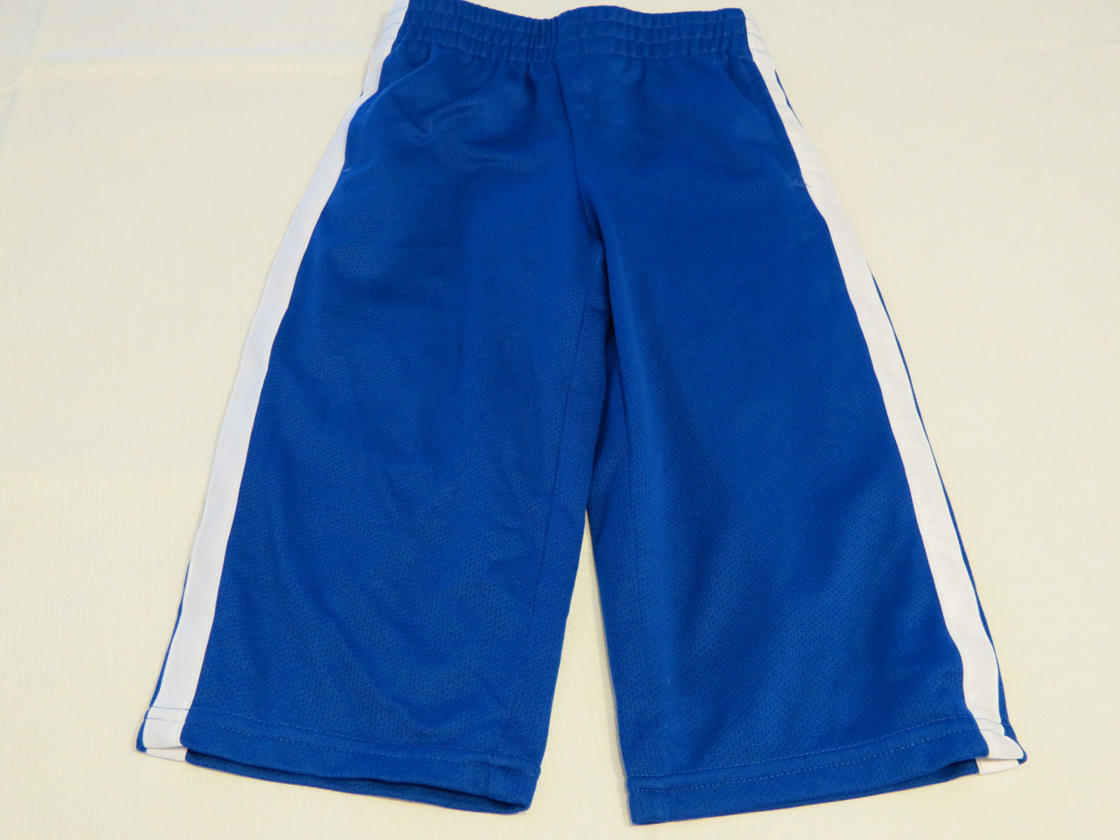 Primary image for The Children's Place active pants 12 M baby boys NWT blue white Athletics Dept